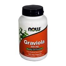 Graviola en Capsulas Now 100Cap/500mg