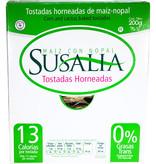 Tostada Horneada de Maíz Con Nopal Susalia 200 gr.