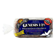 Pan Ezekiel 1:29 de Cereales y Semillas Génesis FFL 680 gr.