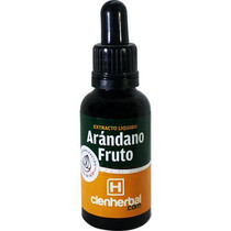 Extracto Herbal Arándano Fruto CienHerbal 30 ml.