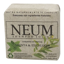 Shampoo Solido Menta Neum 140gr