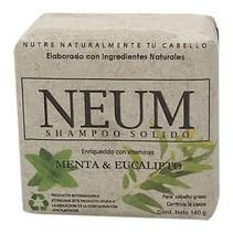 Shampoo Solido Menta y Eucalipto Neum 140gr