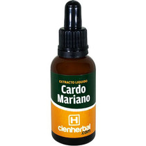 Extracto Herbal Cardo Mariano CienHerbal 30 ml.
