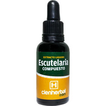 Extracto Herbal Escutelaria Compuesta CienHerbal 30 ml.