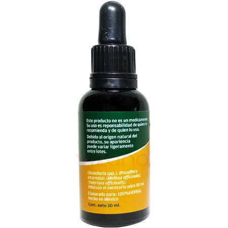 Extracto Herbal Escutelaria Compuesta CienHerbal 30 ml.