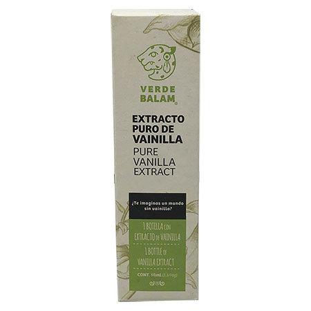 Extracto de Vainilla Verde Balam 50ml