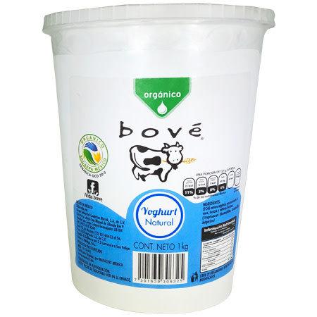 Yogurt Natural Bove 1 L.