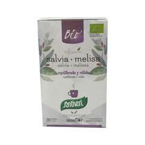 Infusión Salvia+Melissa Santiveri 20 Bolsitas