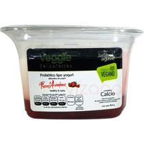 Yogurt Vegano Fresas y Arándano Veggie Delicatessen 454 gr.