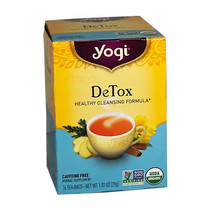 Te Detox Sin Cafeina Yogi 16/29g