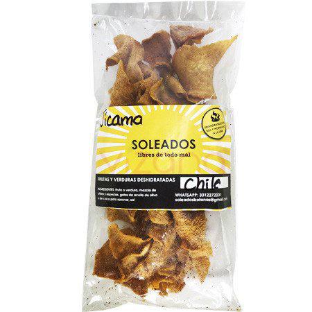 Jicama con Chile Soleados 50 gr.