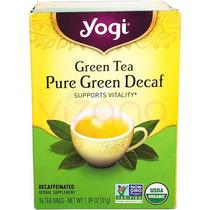 Te Verde sin Cafeína Yogi 16-31 gr.