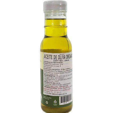 Aceite de Oliva  Organico Kevala 236ml