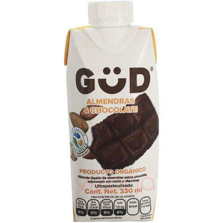 Bebida de Almendra Con Chocolate GüD 330 ml.