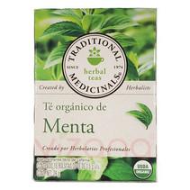 Té Orgánico de Menta Traditional Medicinals 16 - 1.5 gr.