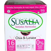 Tostada Horneada Chia y Linaza Susalia 200 gr.
