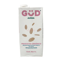 Leche de Avena Orgánica GüD 1 L.