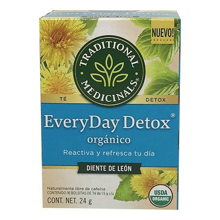 Te Detox (Diente de Leon) Traditional Medicinals 16/24gr