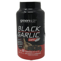 Ajo Negro en Capsulas Greenside 90/500mg