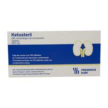 Ketosteril Tabletas 630 mg.