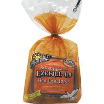 Pan para Hot Dog Cereales Germinados Ezekiel 454gr