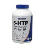 5-HTP en Capsulas Nutricost 240/100mg