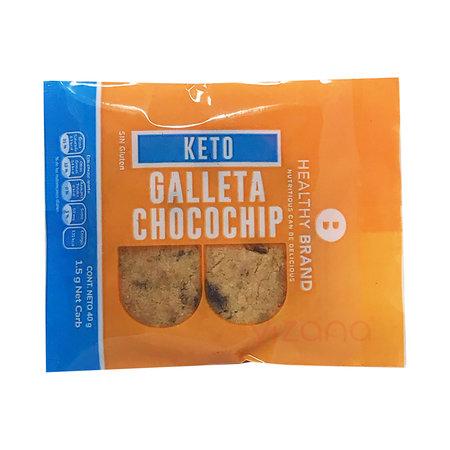 Galleta Chocochip Keto Healthy Brand 40gr