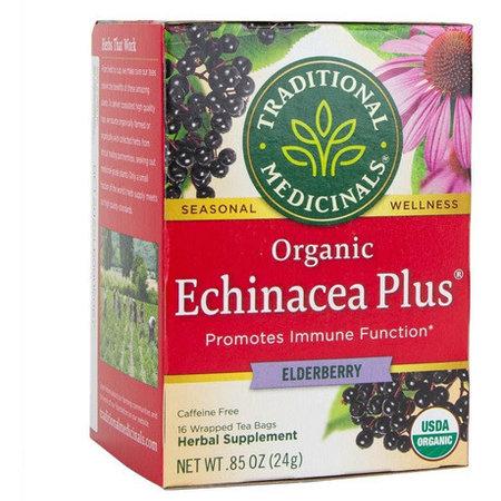 Te de Echinacea Traditional Medicinals  16/24gr