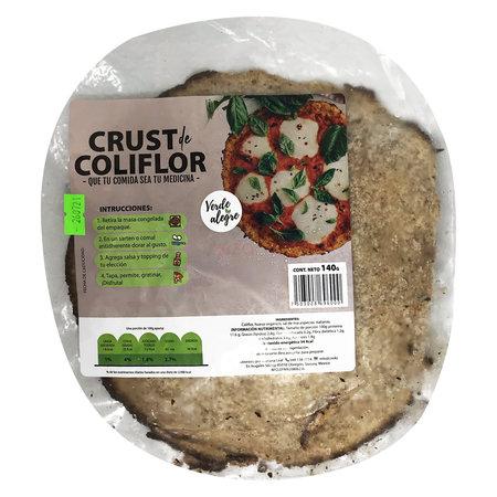 Masa de Coliflor para Pizza Verde Alegre 1pza