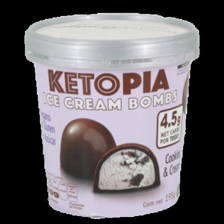 BOMBS Keto Cookies and Cream Ketopia 195gr