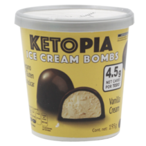 BOMBS Keto Vanilla Cream Ketopia 195gr