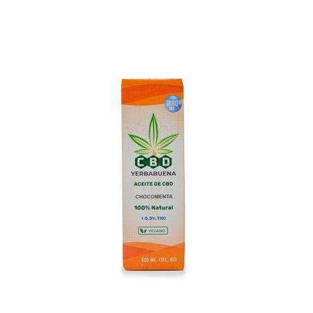 CBD sabor Chocomenta 30ml/1800mg