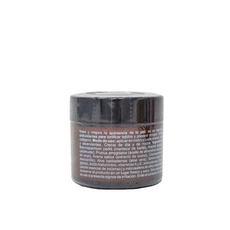 Crema facial de Karite, Incienso y Ac. Hialurónico Immi 80ml