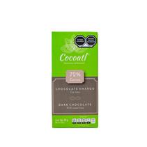 Chocolate Amargo Con Lima 72% Cacao Cocoatl 80g.