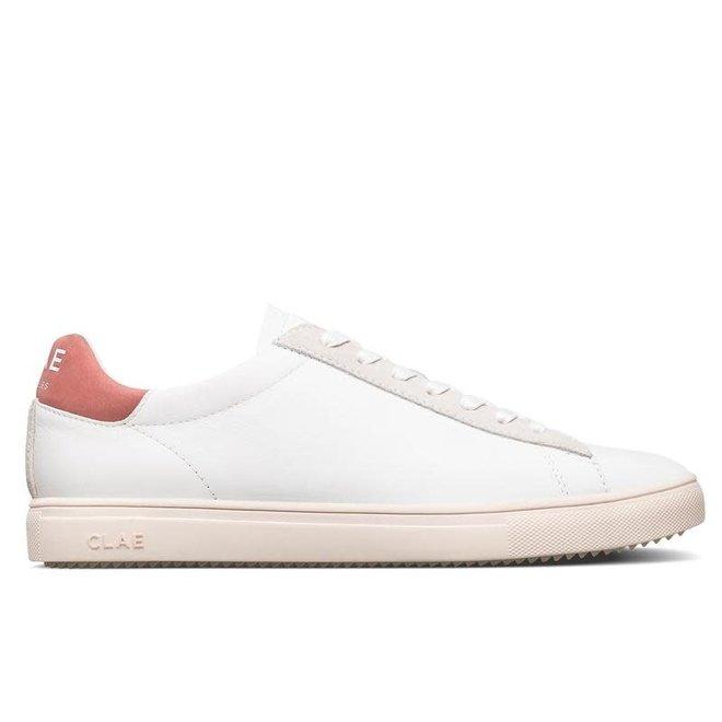Bradley California Leather in White/Terracotta