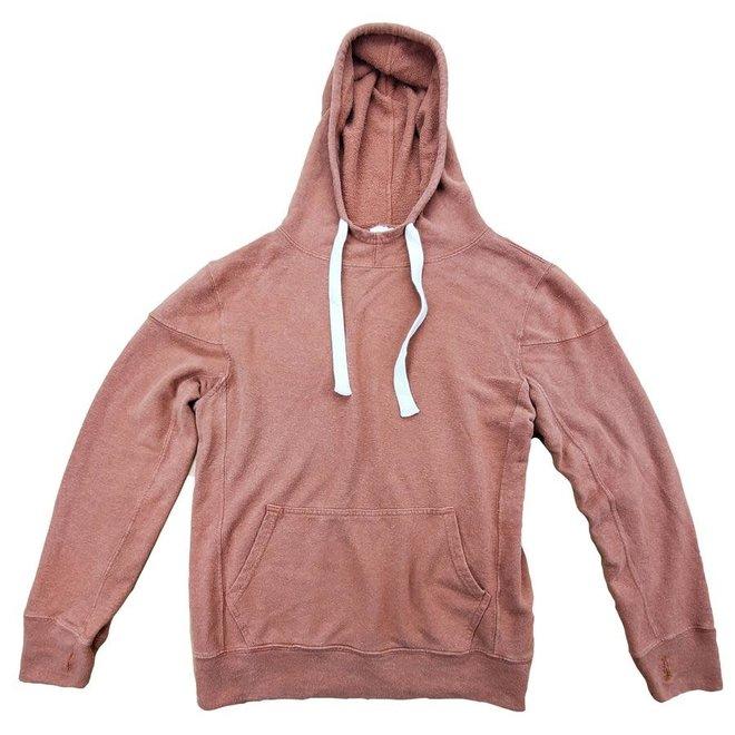 Maui Hooded Sweatshirt in Terracotta