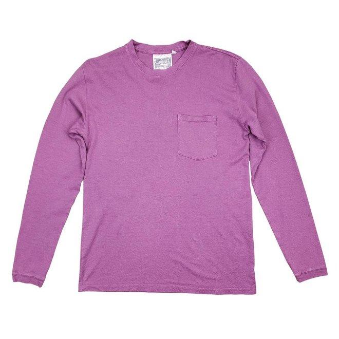 Baja Pocket Long Sleeve T-Shirt in Purple Haze