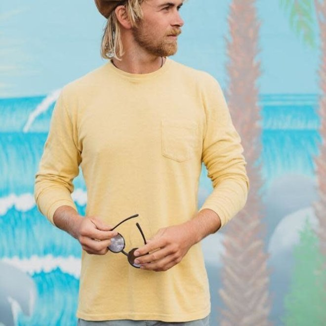 Baja Pocket Long Sleeve T-Shirt in Sunray