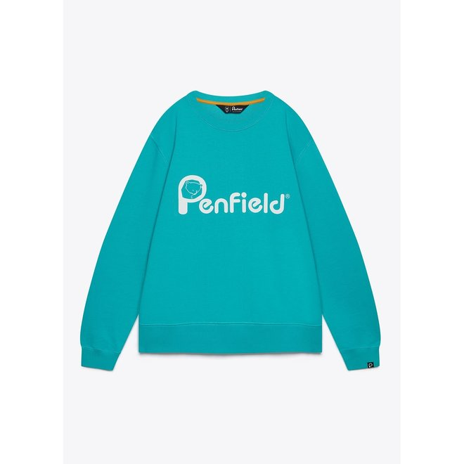 Capen Sweatshirt in Baltic Teal
