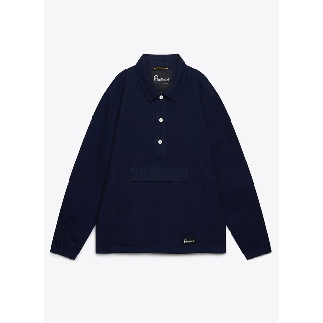 Delton Overshirt in Navy