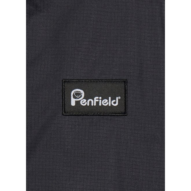 Bonfield Packaway Jacket in Black