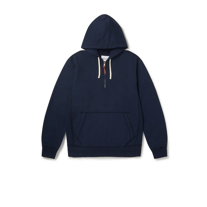 Hooded Sweatshirt in Navy