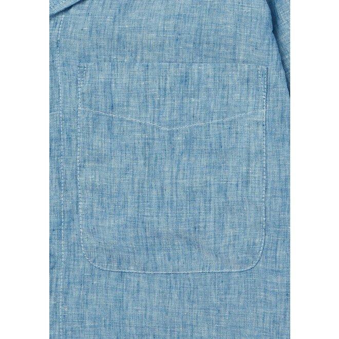 Revere Short Sleeve Shirt in Light Blue