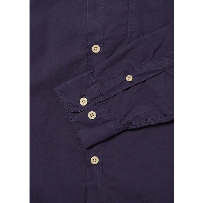 Gysin Long Sleeve Shirt in Navy