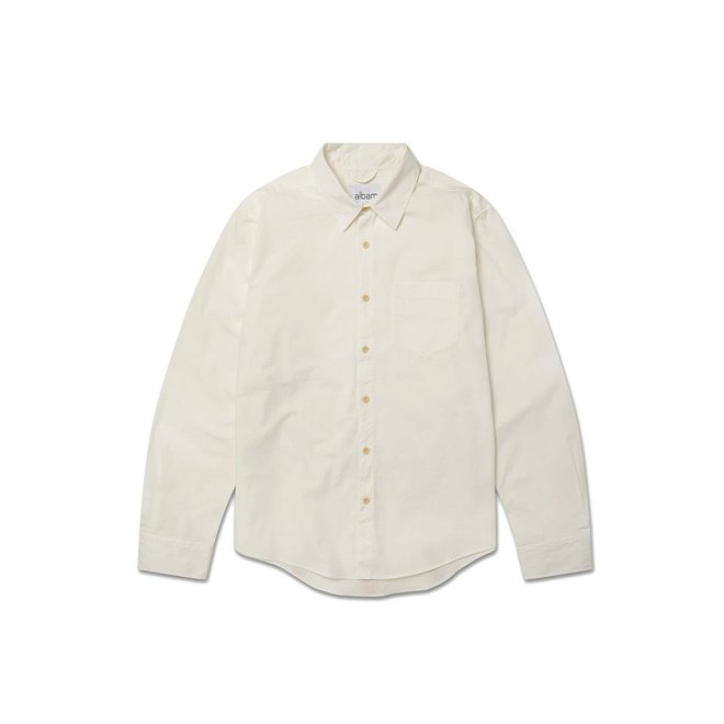 Gysin Long Sleeve Shirt in White