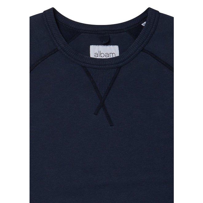 Hemp Sweatshirt in Navy