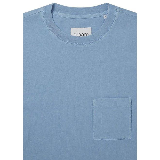 Workwear Short Sleeve T-Shirt in Light Blue