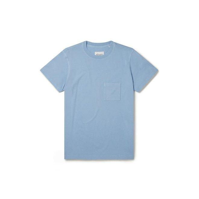Workwear T-Shirt in Light Blue