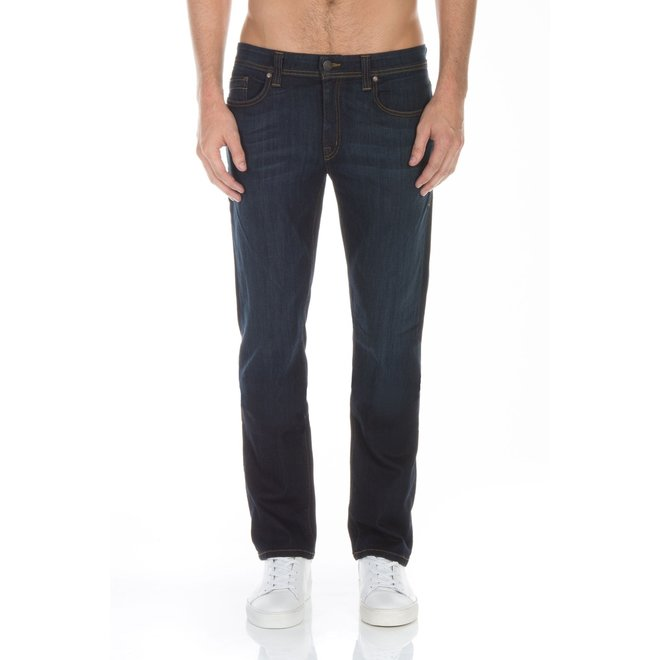 Jimmy Slim Straight Jeans in Clampdown Dark