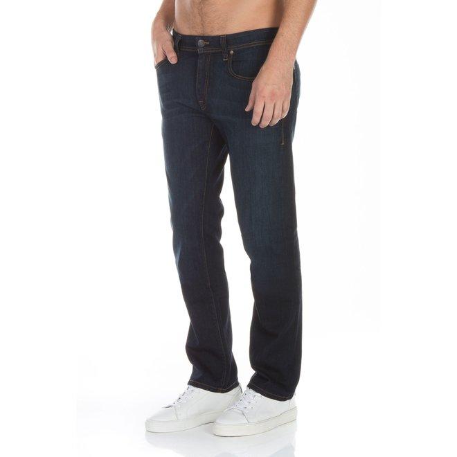 Jimmy Slim Straight Jeans in Clampdown Dark
